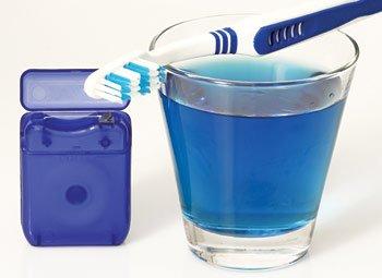 Mouthwash.