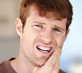Tooth pain.