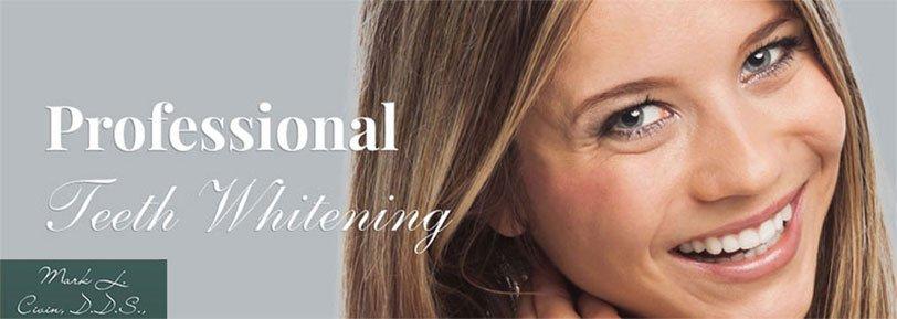 Professional Teeth Whitening Mark L. Civin, D.D.S.,